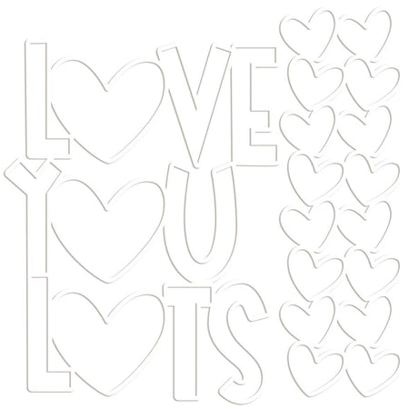 Bella Blvd Cut-Outs - Love You Lots