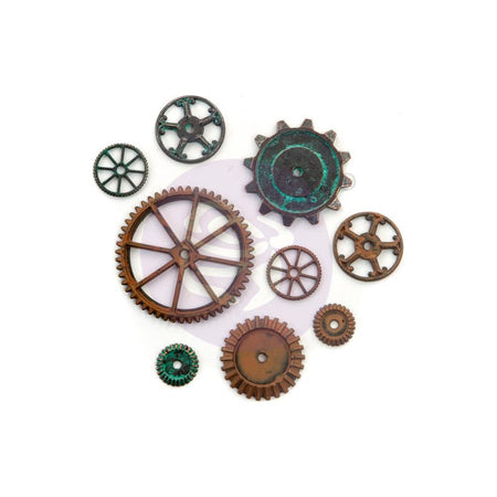Prima Finnabair Mechanicals Metal Embellishments - Machine Parts