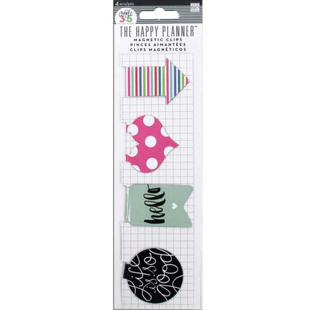 Me & My Big Ideas Happy Planner - Magnetic Clips Hello Stripes