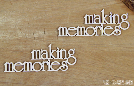 Scrapiniec Chipboard - 4033 Making Memories