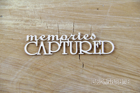 Scrapiniec Chipboard - 3752 Memories Captured
