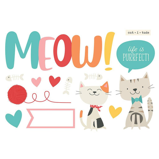 Simple Stories Page Pieces - Meow