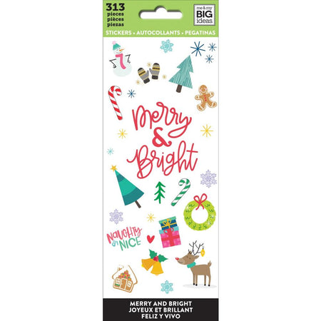 Me & My Big Ideas Stickers - Merry & Bright