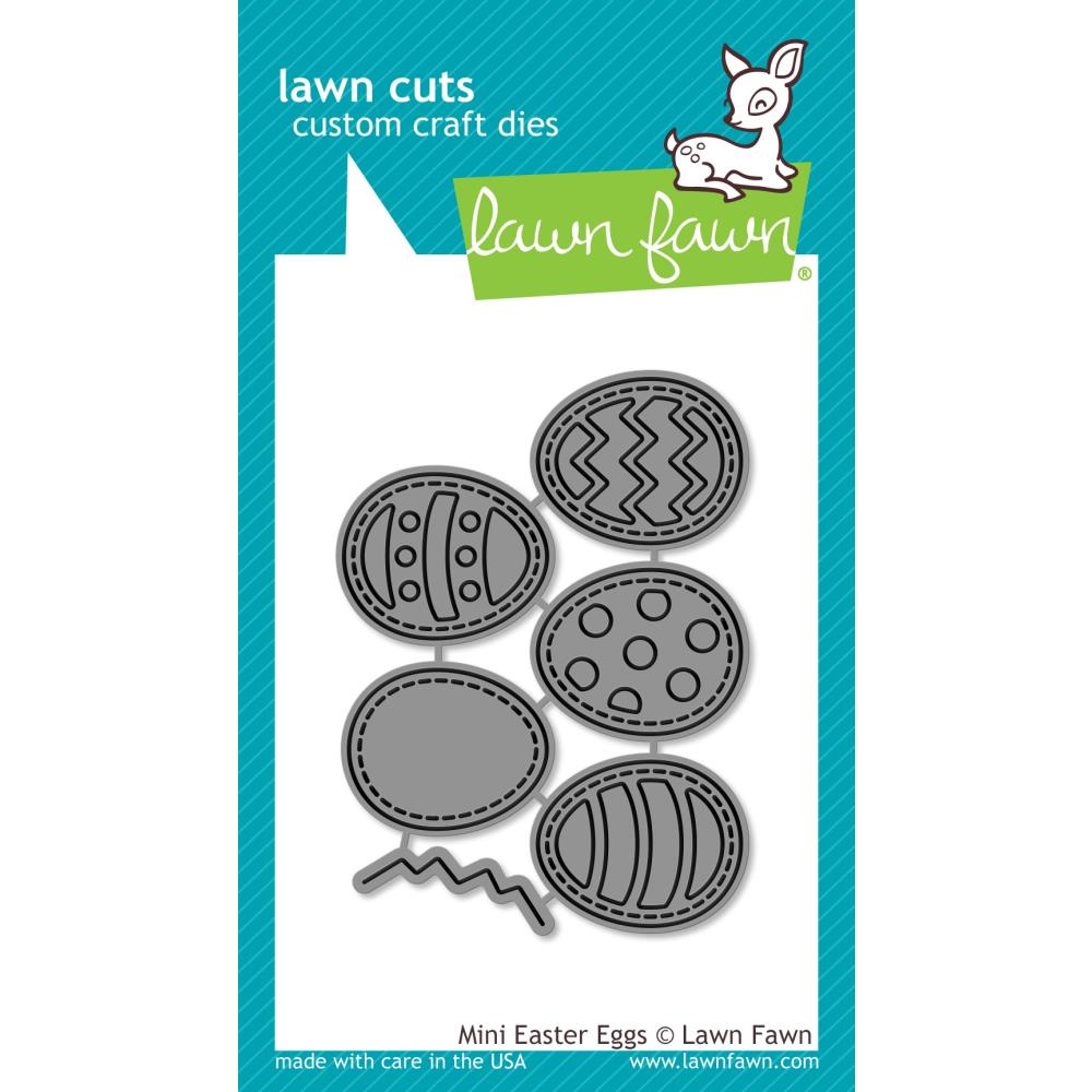 Lawn Fawn Craft Die - Mini Easter Eggs