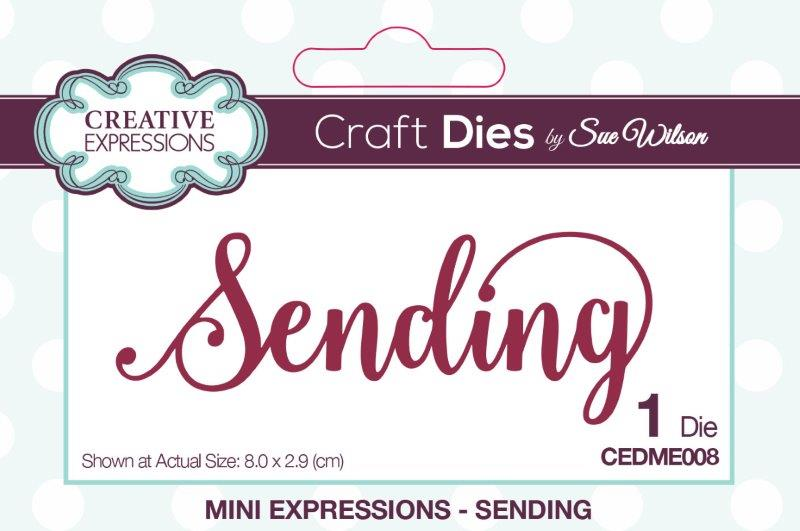 Creative Expressions Mini Expressions Die - Sending