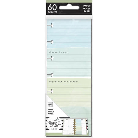 Me & My Big Ideas Happy Planner - Mini Half Sheet Fill Paper Homebody
