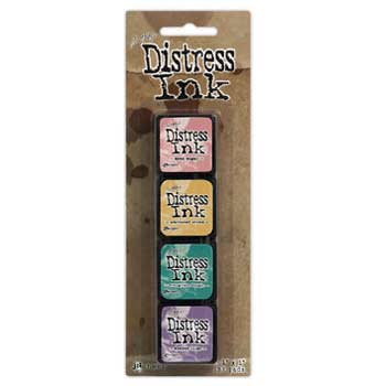 Tim Holtz Distress Ink Mini Kit - Kit 4