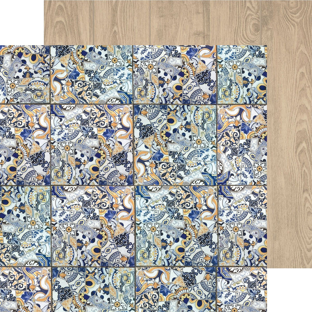 Kaisercraft Havana Nights - Mosaic Tile