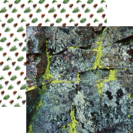Reminisce Scandinavian Woodland - Mossy Rock
