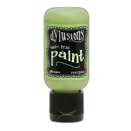 Dylusions 1oz Paint - Mushy Peas
