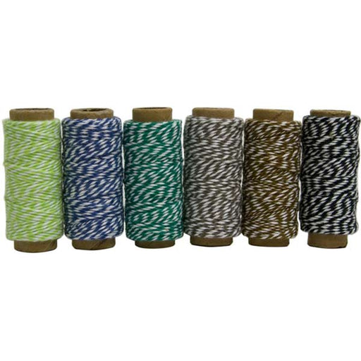 Hemptique Bakers Twine Mini Spool Set - Garden Party