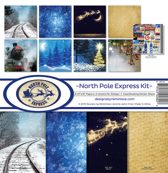 Reminisce North Pole Express - Collection Kit