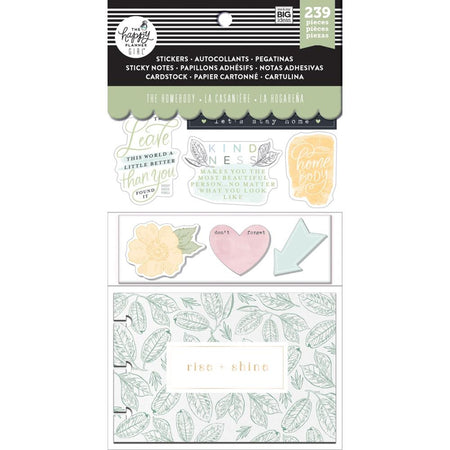 Me & My Big Ideas Happy Planner Note Cards/Stickers- Homebody