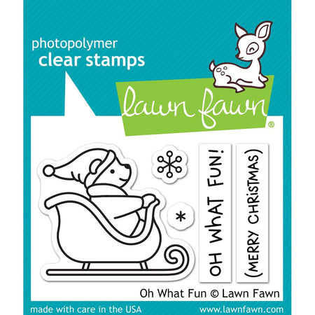 Lawn Fawn Clear Stamps - Oh What Fun