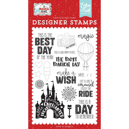 Echo Park A Magical Place - Our Happy Place Clear Stamps