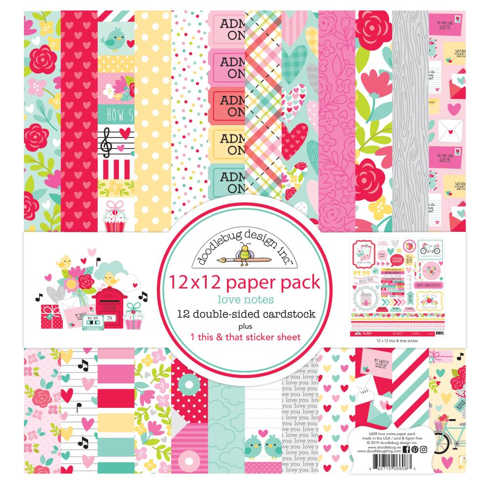 Doodlebug Design Love Notes  - Collection Kit
