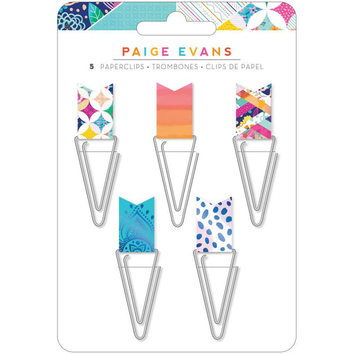 American Crafts Paige Evans Go The Scenic Route - Paperclips