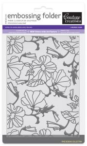 Couture Creations Embossing Folder - Passion