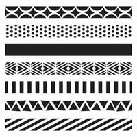 Crafter's Workshop 6x6 Template - Pattern Strips