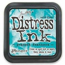 Tim Holtz Distress Ink Peacock Feathers