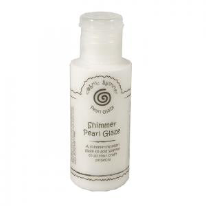 Cosmic Shimmer Clear Glaze - Shimmer Pearl