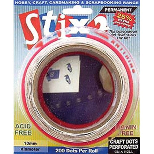 Stix2 Craft Dots Perforated on a Roll