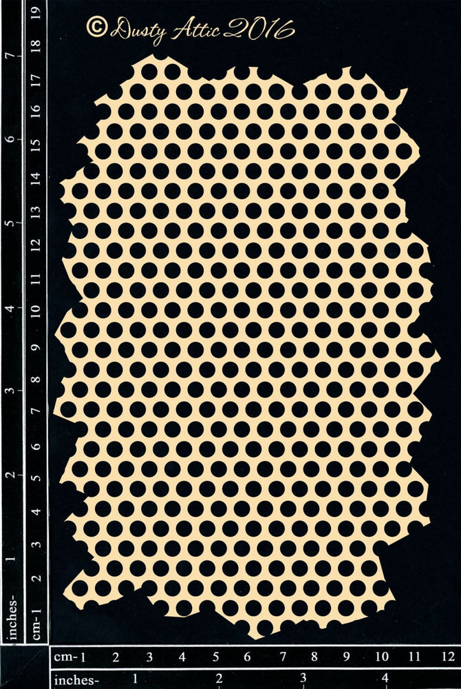 Dusty Attic - Perforated Mesh