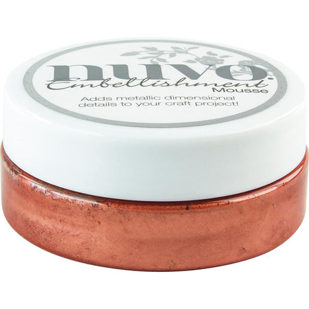 Tonic Studios Nuvo Embellishment Mousse - Persian Red