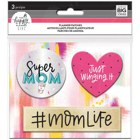 Me & My Big Ideas Happy Planner - Planner Patches Super Mom