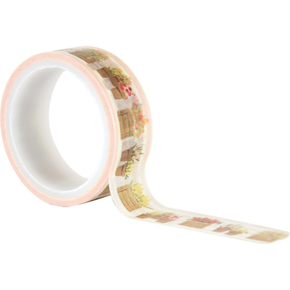 Carta Bella Flower Market - Flower Pots Decorative Tape