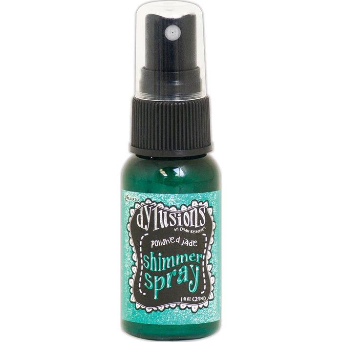 Ranger Dylusions Shimmer Spray - Polished Jade