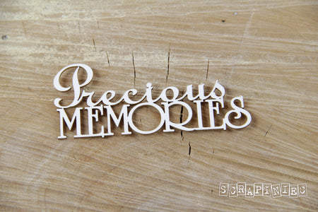 Scrapiniec Chipboard - 3750 Precious Memories