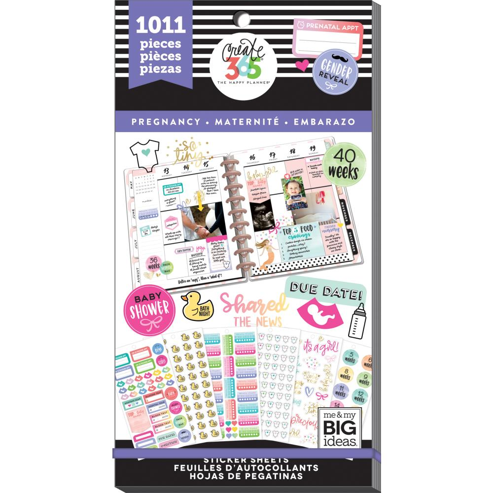 Me & My Big Ideas Happy Planner - Sticker Value Pack Pregnancy