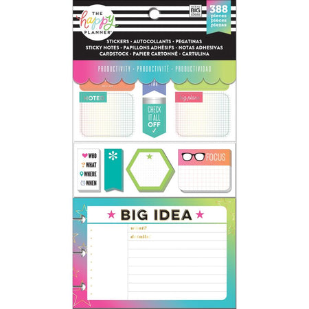 Me & My Big Ideas Happy Planner - Productivity Stickers
