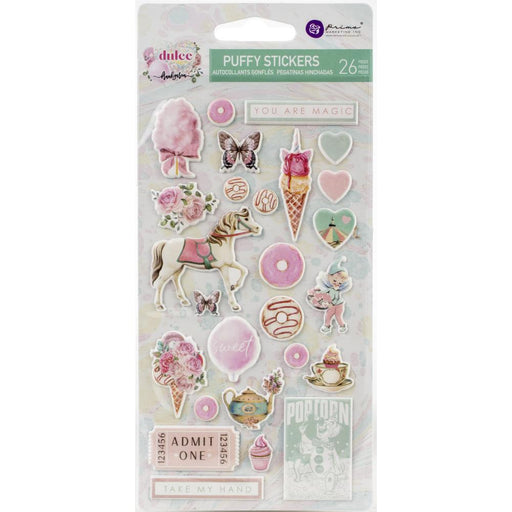 Prima Dulce - Puffy Stickers