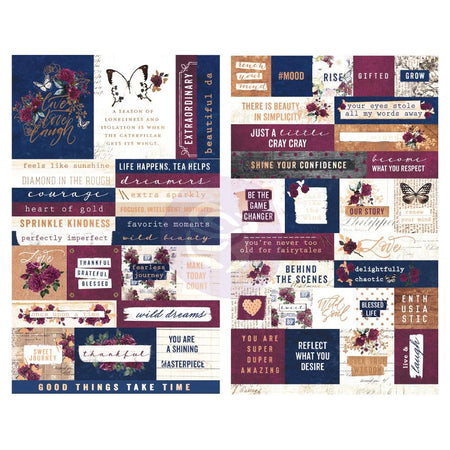 Prima Darcelle - Word & Quote Stickers