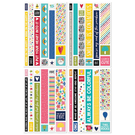 Jillibean Soup Rainbow Roux - Washi Sheets