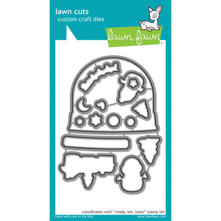 Lawn Fawn Craft Die - Ready, Set, Snow