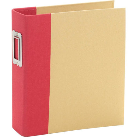 Simple Stories Sn@p 6x8 Binder Album - Red
