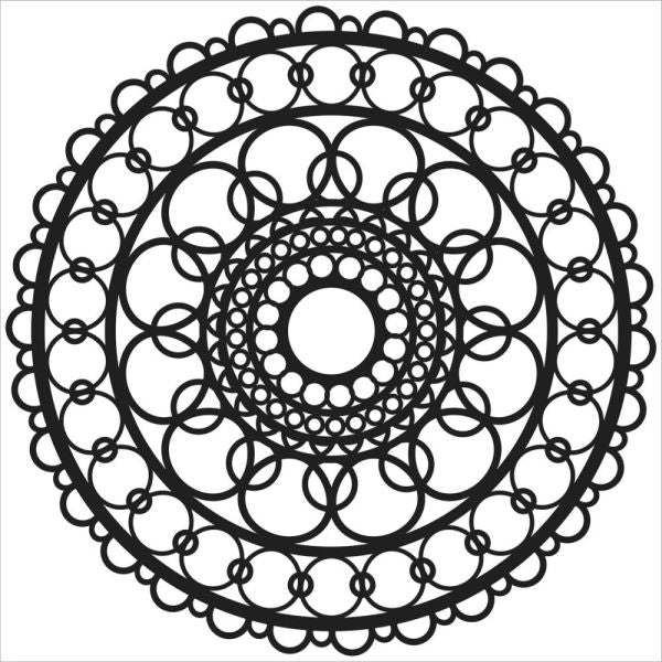 Crafter's Workshop 6x6 Template - Ring Doily