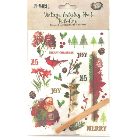 American Crafts Shimelle Christmas Magic - Rub-Ons