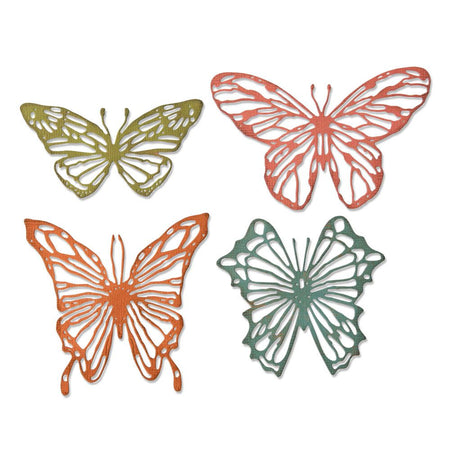 Sizzix Tim Holtz Alterations Thinlits Die - Scribbly Butterflies