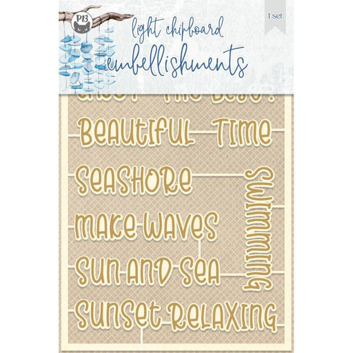 P13 Beyond The Sea - Chipboard Embellishments #5