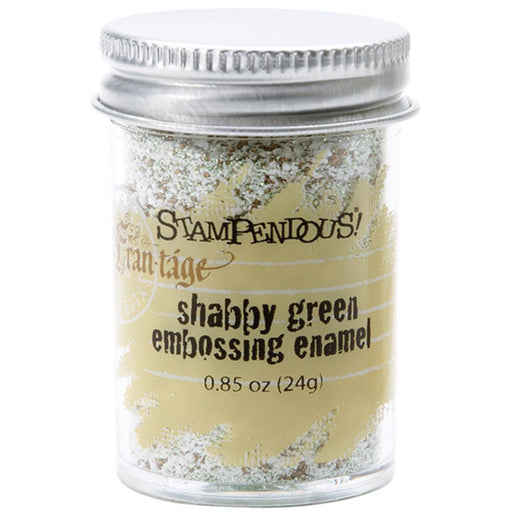 Stampendous Frantage Embossing Enamel - Shabby Green