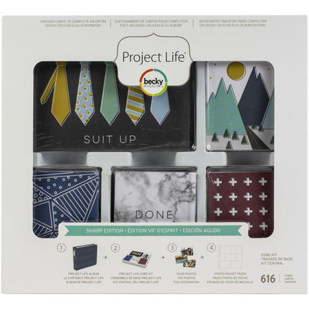 Project Life Core Kit - Sharp Edition
