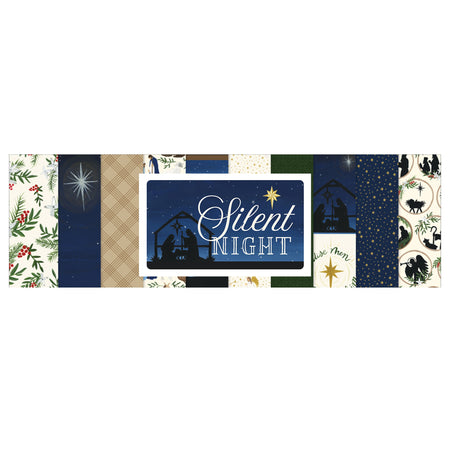 Echo Park Silent Night - Bazzill Matchmaker Pack