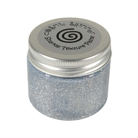 Cosmic Shimmer Sparkle Texture Paste - Silver Moon