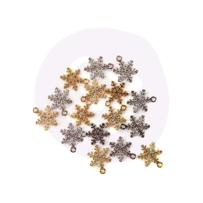 Prima Christmas In The Country  - Snowflake Charms