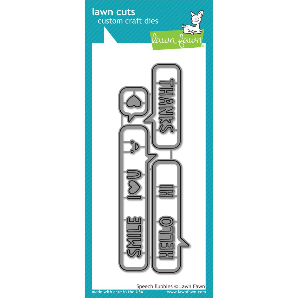 Lawn Fawn Craft Die - Speech Bubbles
