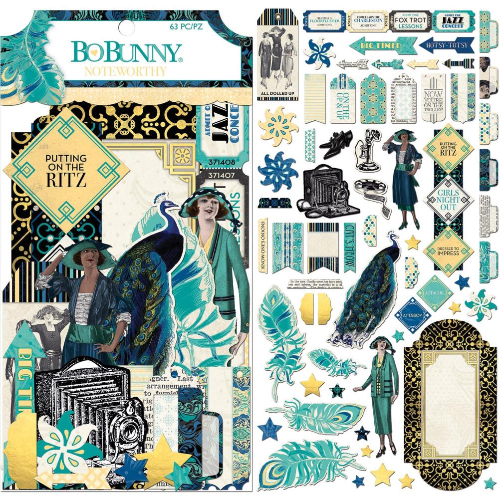 Bo Bunny Something Splendid - Noteworthy Die Cuts